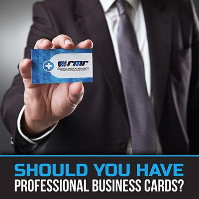 Should You Have Professional Business Cards?