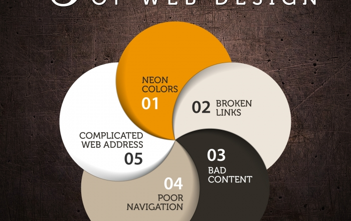The Five Deadly Sins Of Web Design