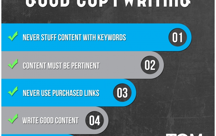 The Five Rules Of Good Copywriting
