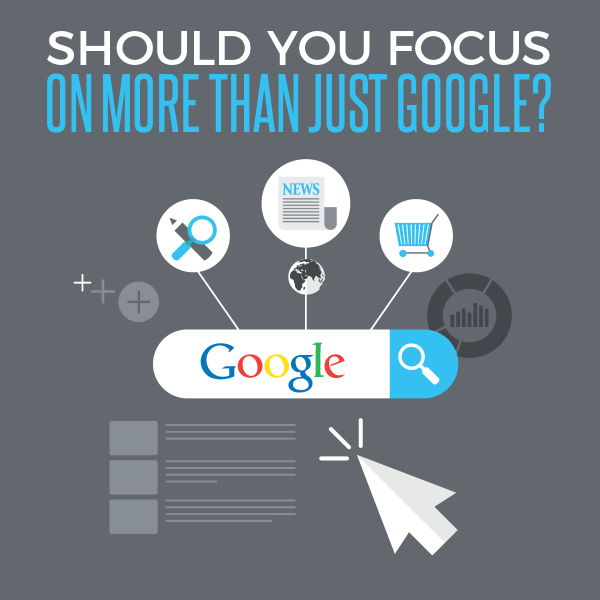 Should You Focus On More Than Google?