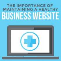 Maintaining A Healthy Business Website